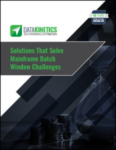 Solutions that Solve Mainframe Batch Window Challenges