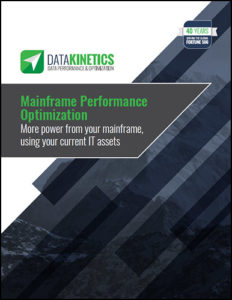 Mainframe Performance Optimization